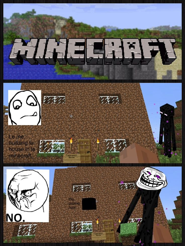 Funny Memes Minecraft : Images about minecraft on pinterest