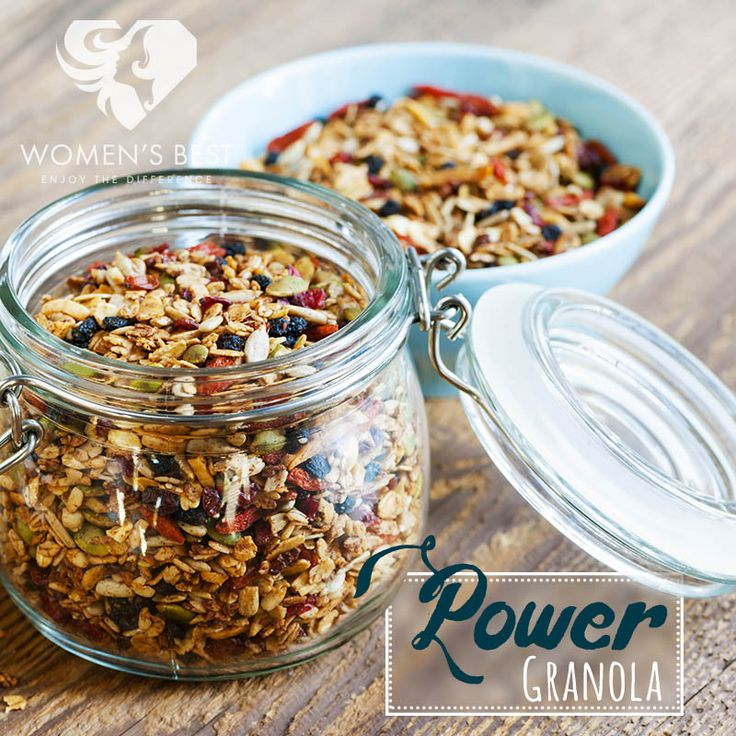 Power granola makes a great snack! #womensblog
