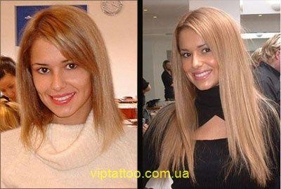 нарощенные волосы на каре до и после - Поиск в Google