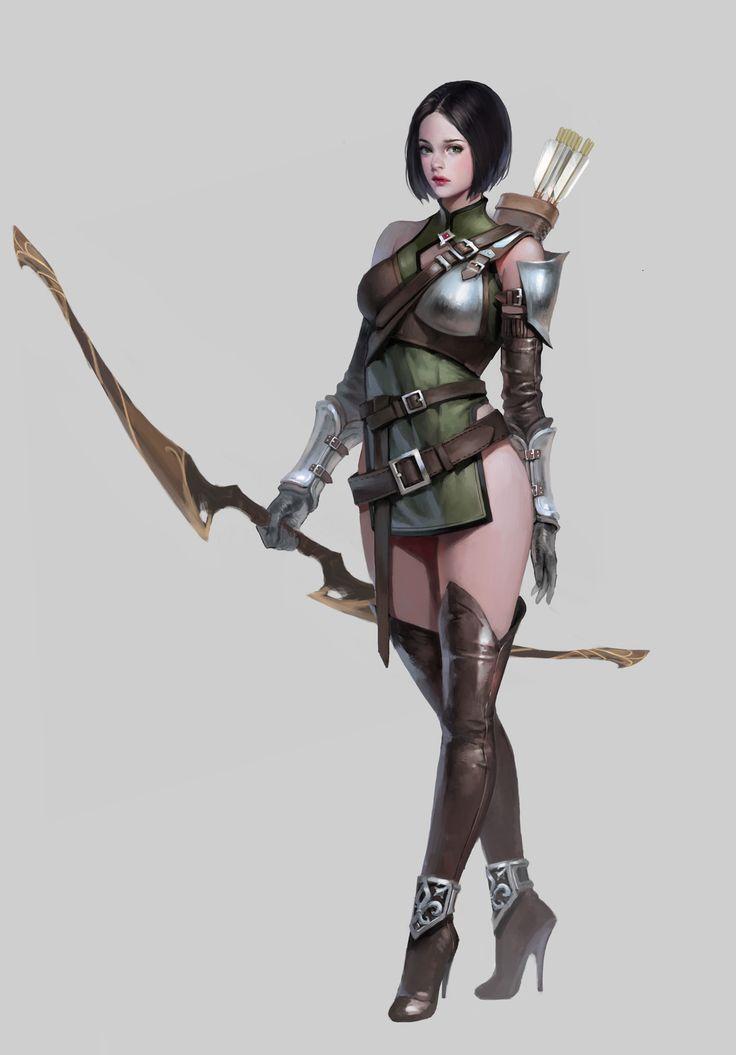 archer, J.Won Han on ArtStation at https://www.artstation.com/artwork/kzZR2