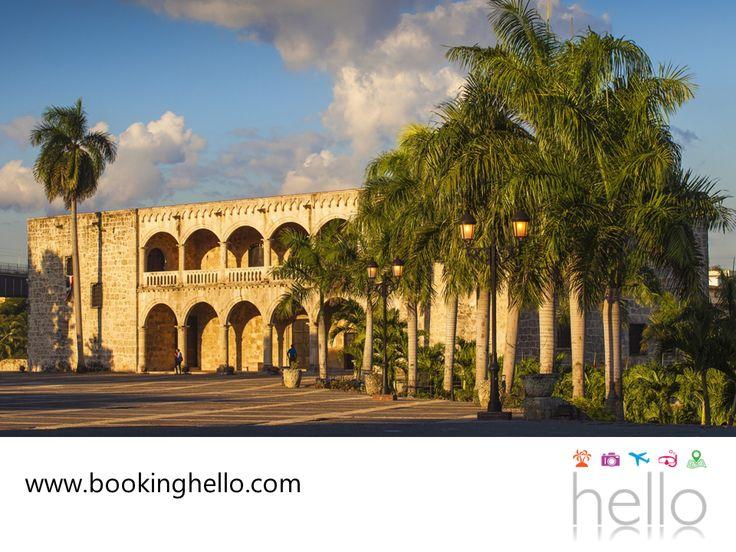 EL MEJOR ALL INCLUSIVE AL CARIBE. Es cierto que República Dominicana tiene las playas más hermosas del Caribe y además, cuenta con un clima perfecto para tener unas vacaciones relajantes. Aunque también es recomendable planear una visita a su capital y zona colonial, declarada Patrimonio de la Humanidad en 1990, para que conozcas todos sus atractivos y su historia. En Booking Hello, te recomendamos visitarla y tener un paseo diferente con tus amigos. #bookinghello