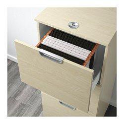 IKEA - GALANT, Aktenschrank, Birkenfurnier, , Inklusive 10 Jahre Garantie. Mehr darüber in der Garantiebroschüre.Verstellbare Fußkappen sorgen für Standfestigkeit auch bei unebenem Boden.Die Schublade schließt sich durch den integrierten Dämpfer langsam, sanft und geräuschlos.Durch Einstellen eines persönlichen Kodes sorgt das Kombinationsschloss für sicheres Aufbewahren wichtiger Unterlagen.3 Schubladen für Hängemappen erleichtern das Sortieren und Aufbewahren wichtiger…