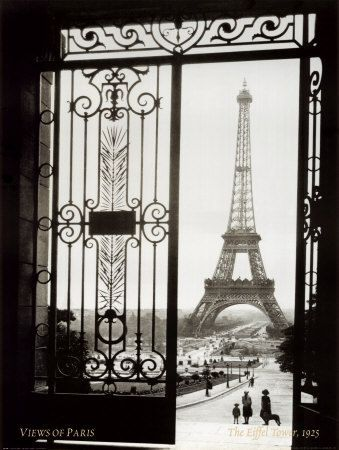 @Overstock.com - Sally Gall 'Views of Paris' Gallery-wrapped Art - This French