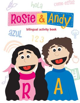 Como Te Llamas? What's Your Name? Rosie & Andy: Bilingual Activity Worksheets supplement the Rosie & Andy: Bilingual Music Videos for Children by helping to reinforce the Spanish vocabulary. Rosie & Andy present a fun, entertaining, and interactive way for children to learn basic words and phrases in Spanish.