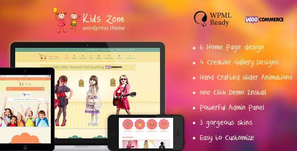 Kids Zone – Themeforest Responsive Chil...