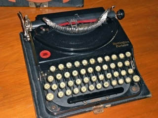 a great uncle's WWII Army typewriter