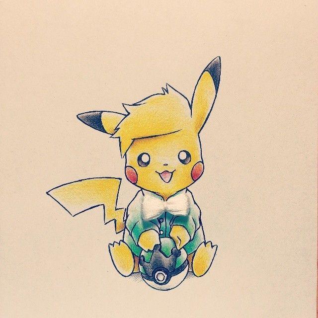 Artist Itsbirdy Pok 233 Mon Pikachu Pokemon Pinterest