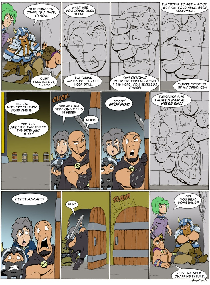 Gotta love Dungeons and Dragons based webcomics. Sure they're a-dime-a-dozen, but Goblins is almost always funny, and the writer has some interesting things to say as well!