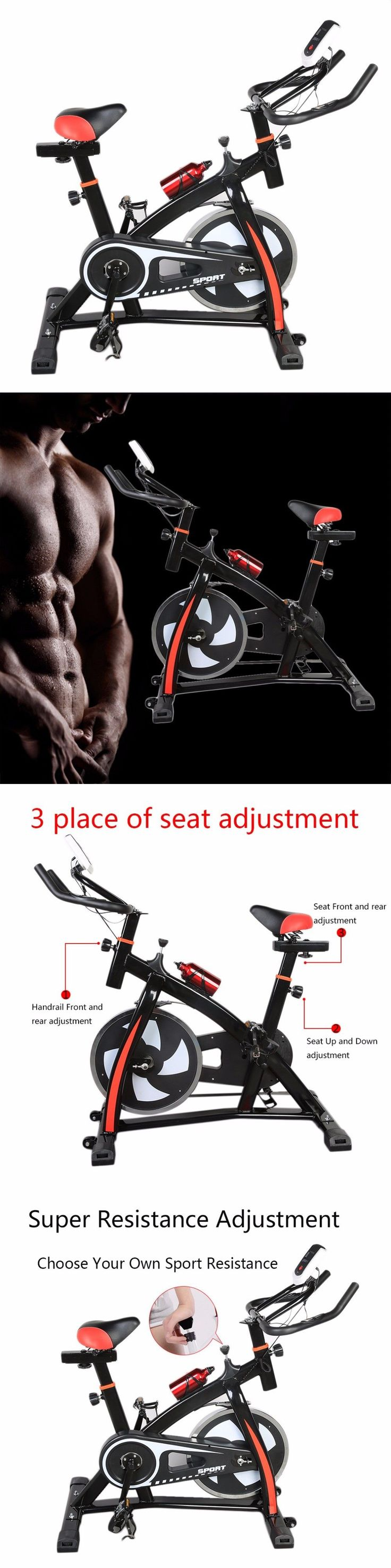 Exercise Bikes 58102: Hewolf Pro-Stationary Exercise Bicycle-Indoor Cycling Cardio Workout - Zh914300 -> BUY IT NOW ONLY: $169.95 on eBay!