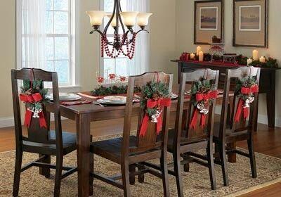 decoracion-sillas-navidad (12) | Curso de organizacion de hogar aprenda a ser organizado en poco tiempo