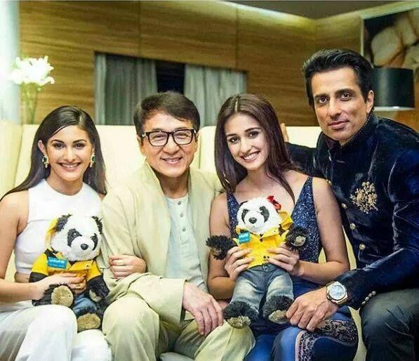 Jackie Chan Sonu Sood and Disha Patani