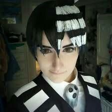 Death the Kid Cosplay  face reference