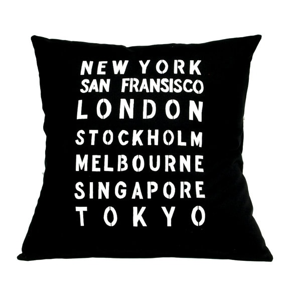 From the Around the World range by linneaswedishdesign Melbourne is rightly placed amongst the best cities in the world!