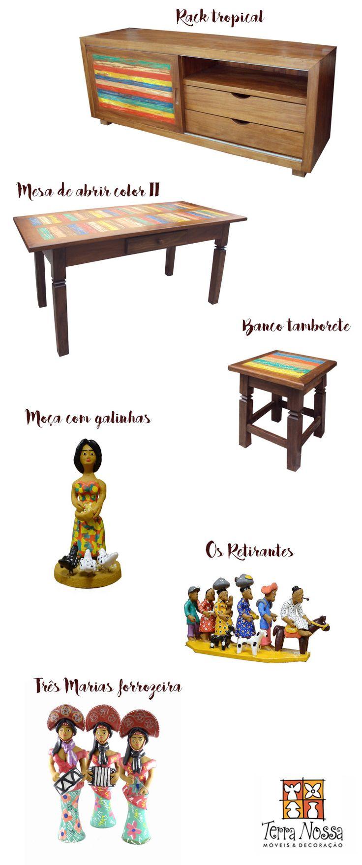 Loja Terra Nossa SAARA, móveis madeira de demolição, cerâmica mestre vitalino - Blog Remobília - Decoração Divertida e Alternativa
