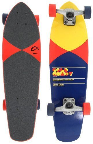 "Goldcoast Complete Longboard Skateboard (Pier Red) by Goldcoast. Save 25 Off!. $74.81. From the Manufacturer                Infinite Displacement. People always say, ""It's the journey, not the destination."" But, sometimes it's the journey to the journey. The countless hours spent fabricating, welding, experimenting, failing and succeeding build as much character as the road trips you take after. The Evolution is our 5 ply, fiberglass wrapped, Roller shape, that has as..."