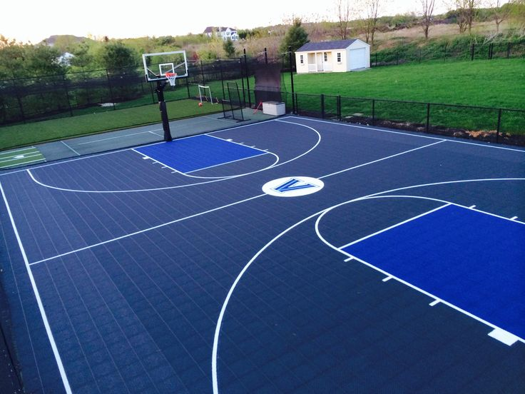 1000 images about outdoor design on pinterest pool for Small basketball court