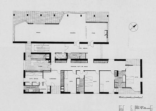 1946–1953 Casa Tognella, also known as Casa al Parco - Ignazio Gardella
