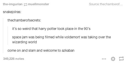 This realization that Harry's adventures happened during a very important time in cinema history.