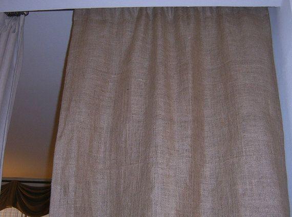 36 best burlap inspiration images on pinterest | burlap curtains