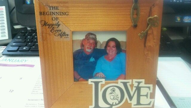 picture frame I made