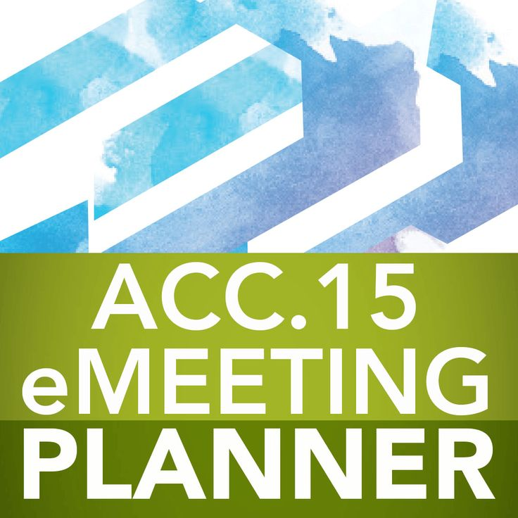 ACC.15 EventPilot Conference App Icon Example