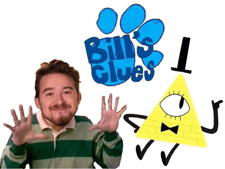 """NO OH MY GOD! I was showing Gravity Falls to my teacher and he said """"Oh so is Bill Cipher like a thing you find in each episode like Blues Clues? 'WHERE'S BILL?? IS HE ON THE TABLE?? NOOO! HE'S RIGHT BEHIND YOU!!!' That kind of thing?"""" No Mister, it's not. I swear this picture speaks to me on so many levels."""