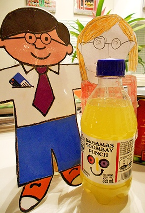 Flat Stanley - St. Thomas Public Library's Character-in-Residence: 2013 Bahamas Adventure, Love is in the Air!