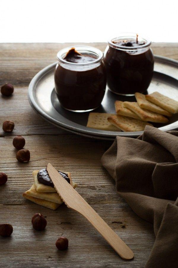 Crema alle nocciole e cioccolato fatta in casa - Hazelnut cream and chocolate home made