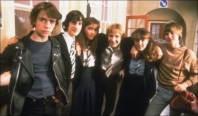 Grange Hill - I was so in love with Tucker Jenkins - he was the bad boy!