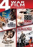 Von Ryan's Express/Tora! Tora! Tora!/Twelve O'Clock High/The Blue Max [4 Discs] [DVD]