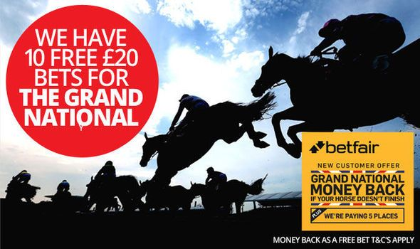 Grand National betting: Win one of 10 free 20 bets on the big race at Aintree