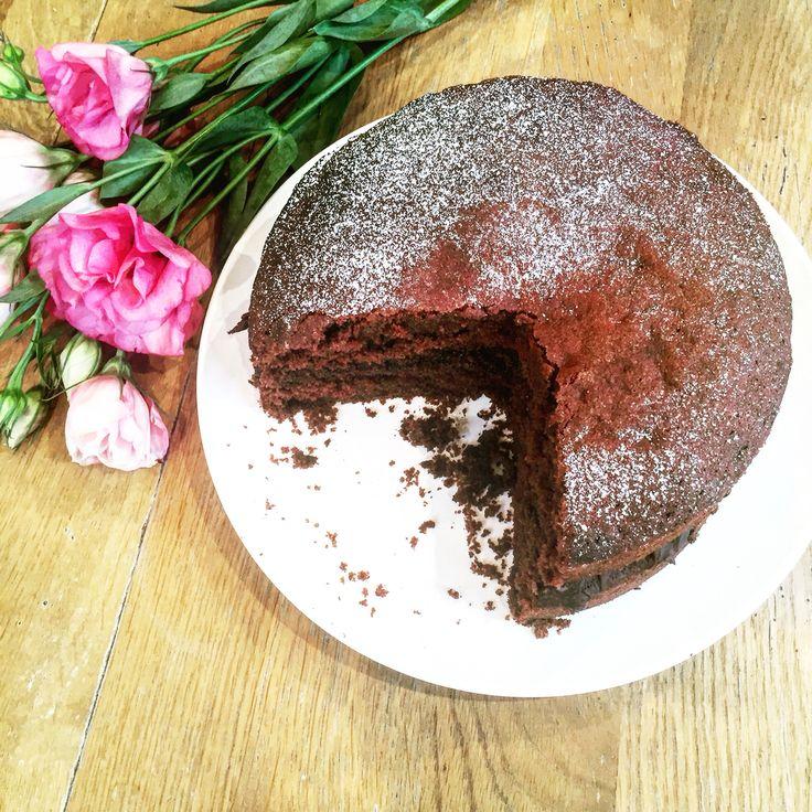 Chocolate fudge cake. 300grams butter & 300grams caster sugar, 6 eggs and 300g self raising flour, 1 tsp baking powder, 50grams coco powder & 3tbs milk