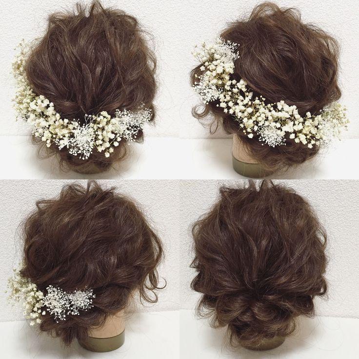 アンティークな大粒のかすみ草と繊細で可愛らしいミニかすみ草のヘッドドレスです♡ 全てプリザーブドフラワーです♪  シンプルでいて、とても印象深い… かすみ草の持つ繊細さ、儚さ、可憐さ… 品があるのにあどけなさも兼ね備えたそんなヘッドドレスです♡  パーツタイプ、または1/2花冠タイプをお選び頂けます꒰◍'౪`◍꒱۶✧˖° こちらは、パーツタイプの商品ページです♪  アンティークかすみ草×12パーツ ミニかすみ草×6パーツ  【製品について】 主にプリザーブドフラワー、アーティフィシャルフラワーを使用して作品を作っております。 ・大変繊細ですので、取り扱いには十分ご注意ください。強く摘んだり、引っ張ったりしますと、花びらが取れてしまったり、お花自体が外れてしまいますので、Uピン、針金等、土台の部分を摘んでお取り扱いください。 ・湿気の多い場所、また直射日光のあたる場所などは、劣化、退色、変色の原因となりますので、保管には十分ご注意ください。…