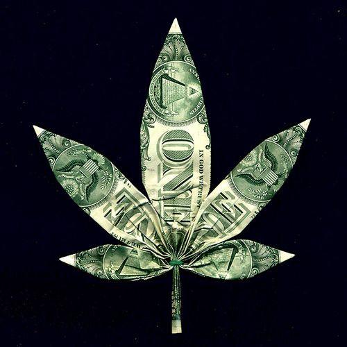Ornament – Origami Dollar Bill Leaf