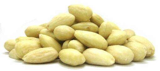 Organic Blanched Almonds- steam pasteurized