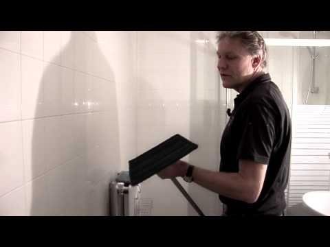 ▶ Schoonmaken tegels badkamer en tafel met interieurmop - YouTube