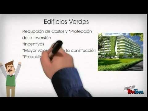 En esta presentación se explica de forma muy sencilla qué son edificios verdes.