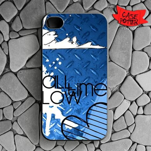All Time Low Art iPhone 4 iPhone 4S Black Case