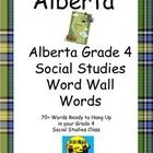 This resource will help your students practice more than 60 key words relating to the Grade 4 Social Studies curriculum for Alberta with a set of l...
