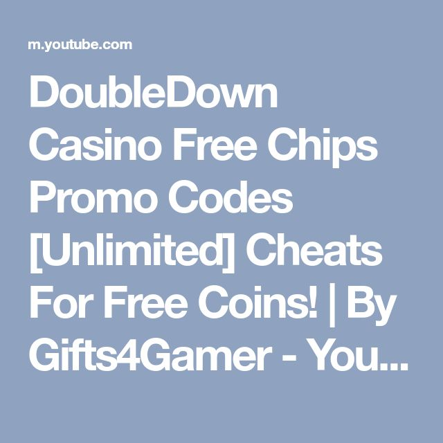 double down casino codes free chips