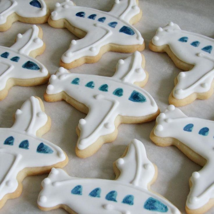 Whipped Bakeshop Philadelphia: Airplane Cookie Favors | Whipped Bakeshop