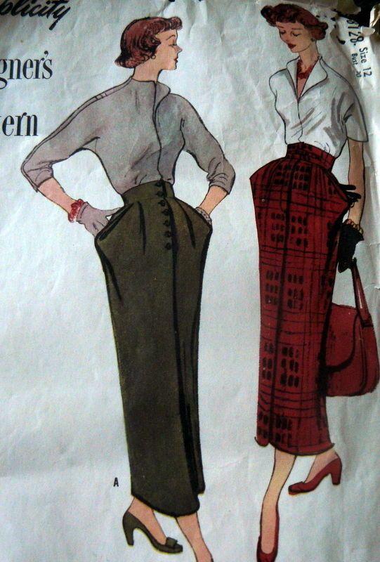 65 best Peg Top Skirts & Dresses images on Pinterest | Vintage ...