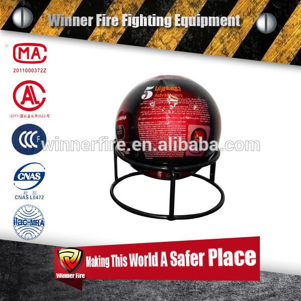 Dry powder automatic Fire extinguisher ball with light weight only 1.3kg for abc class fire
