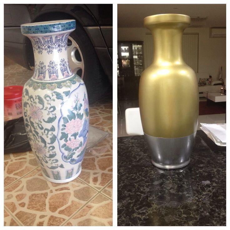 Revamped old vase by heidi habib