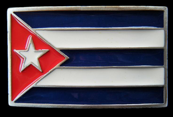 CUBA CUBAN FLAG CASTRO CHE SOCIALIST REBEL BELT BUCKLE #CUBA #CUBAFLAG #CUBAFLAGBUCKLE #cubaflagbeltbuckle #cubano #cubana #beltbuckle #flagbuckles #buckles