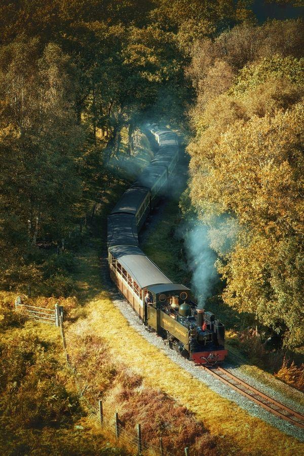 Steam Train, Vale of Rheidol, Devils Bridge, Wales