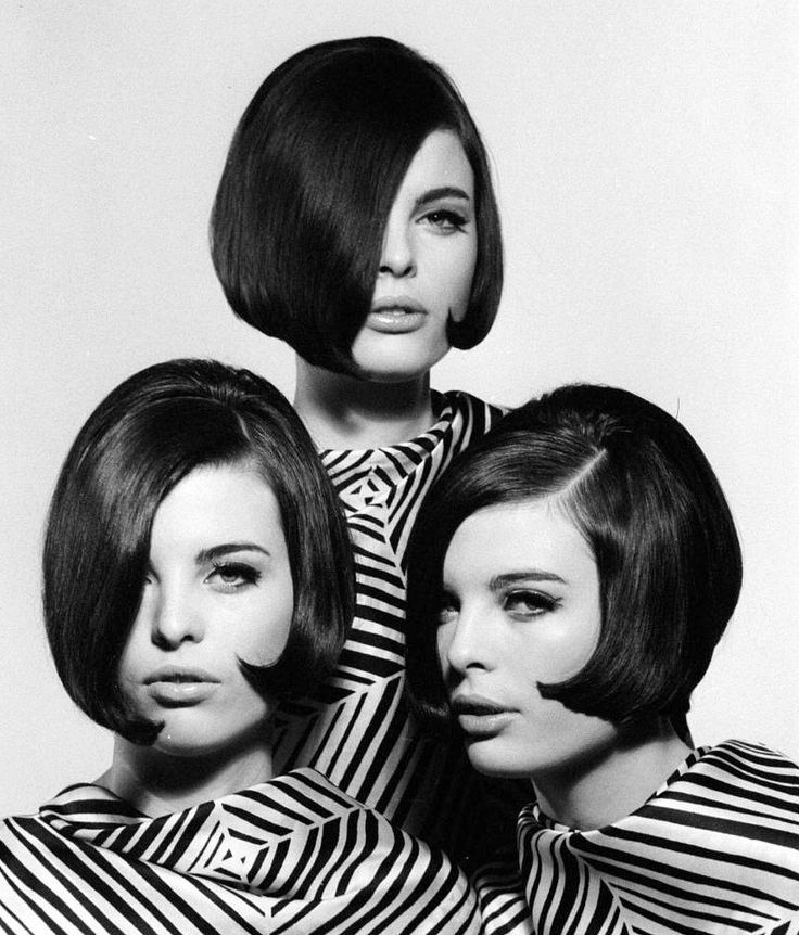 vidal sassoon hair styles the dees triplets from left to right katha and 3137
