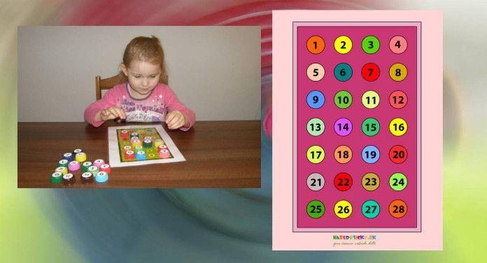 Hra s číslami pre najmenších