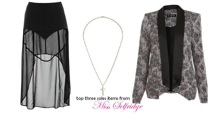 Miss Selfridge Sale...Its On! x