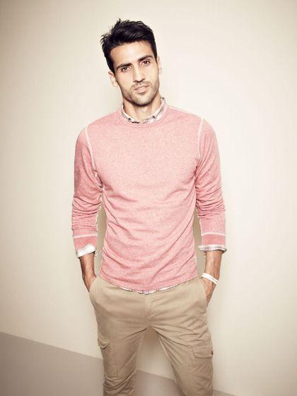 Pink men's clothing store